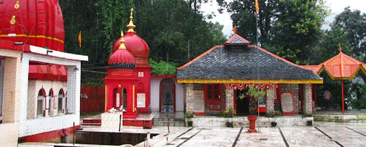 Aghanjar Mahadev Temple at Khanyara Dharamshala