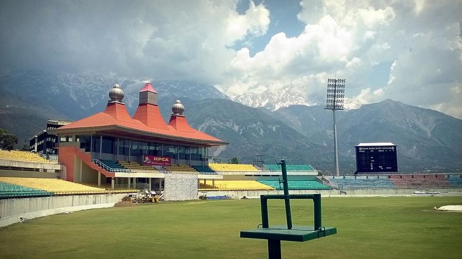 Dhaamshala-Cricketground