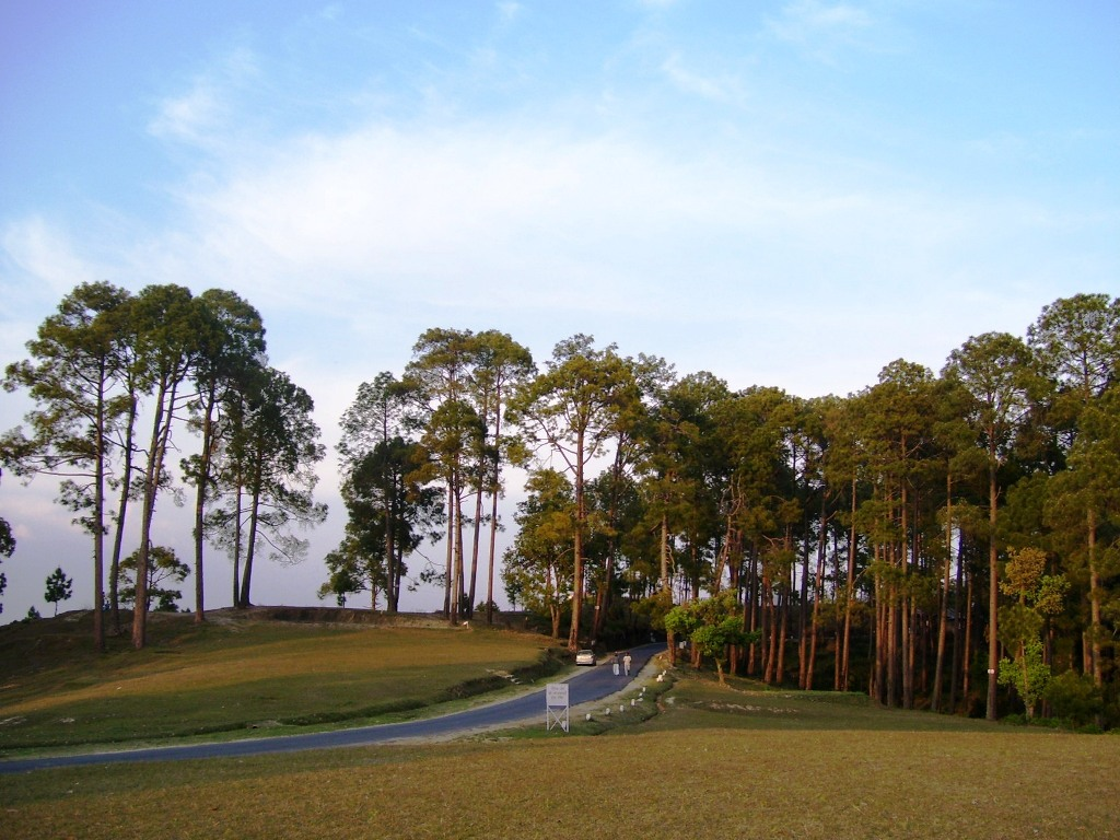 Beautifully Landscaped Gold Course at Ranikhet