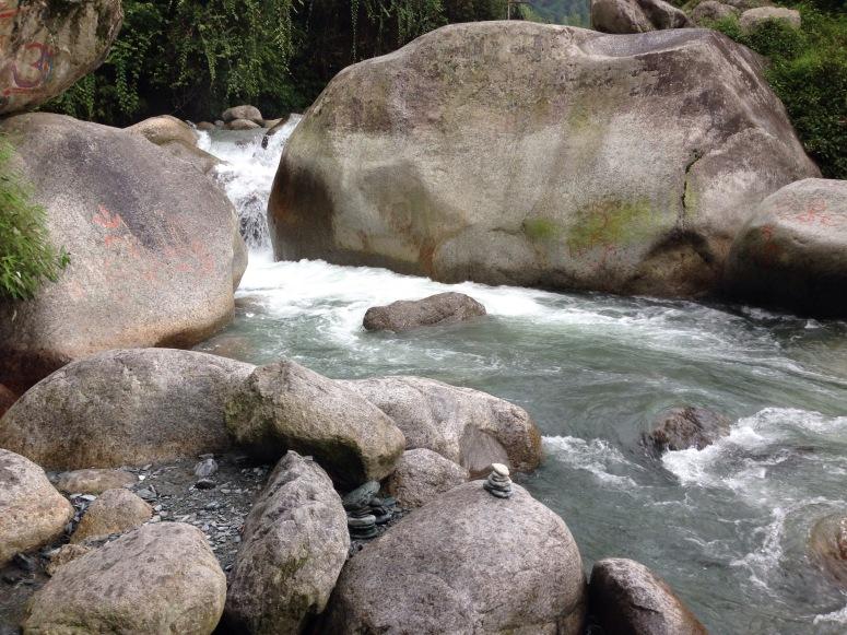 River near Aghanjar Mahadev Temple