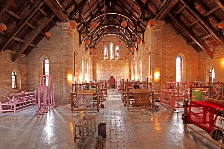 The Ancinet Curch now the Production House for 'The Wollen'