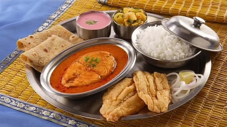A Typical Thali