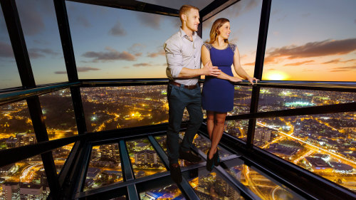 Dare if You Can and witness Melbourne City from the Eureka Skydeck