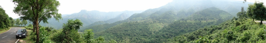 Kumbharli ghat (on the way from Umbraj to Chiplun)