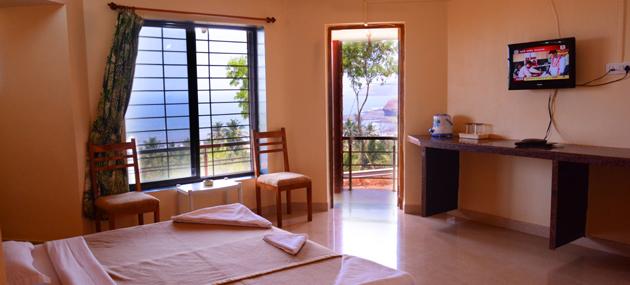 A Non AC Room at MTDC Velneshwar