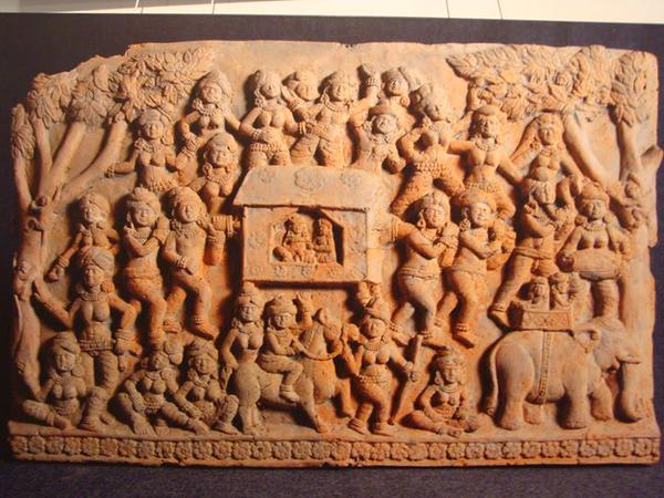 Some sort of an event displayed in a Chandraketugarh panel