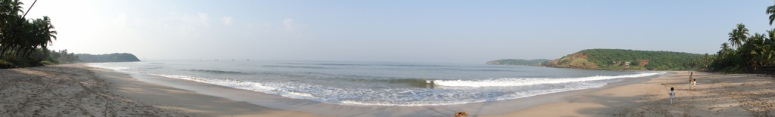 Panoramic View of the Velneshwar Beach