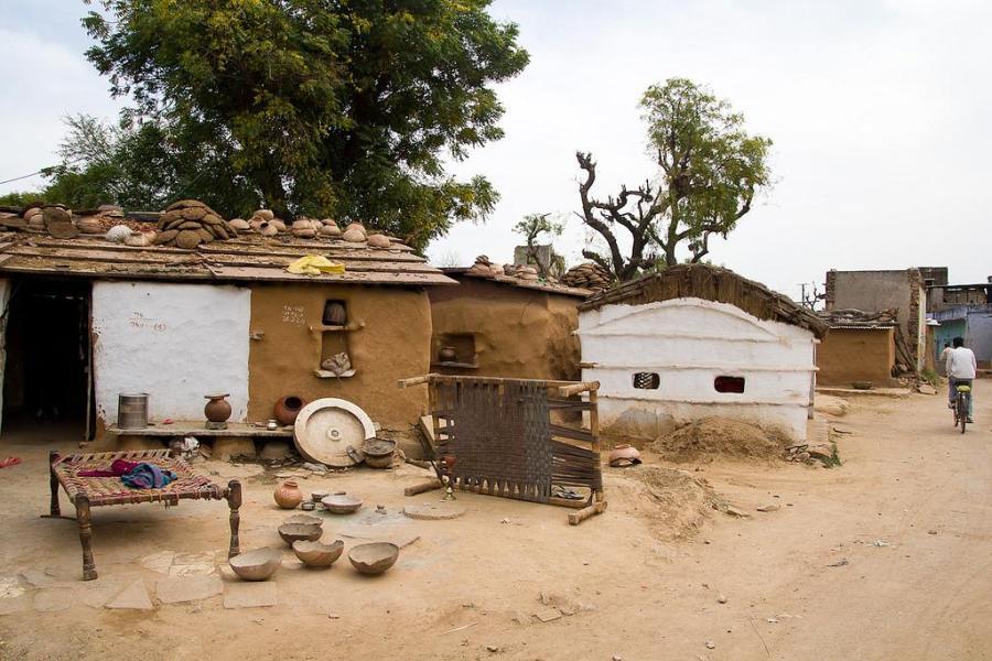 Village Near Chand Baori