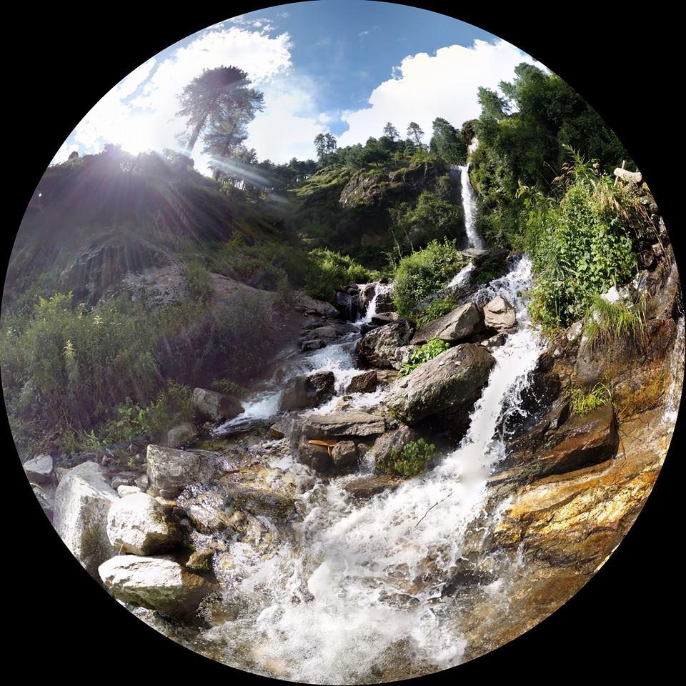 Monsoon Waterfall at Kalap