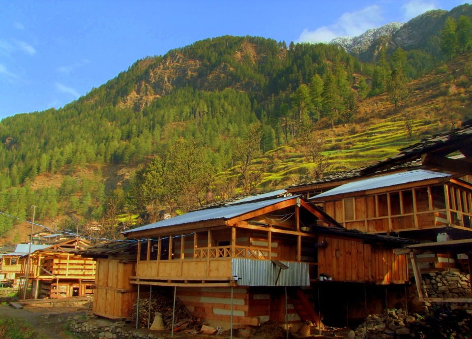 Wooden Beam Houses of Kalap