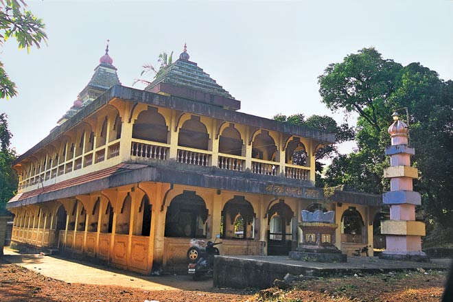 Outside View of Sateri Devi Temple, Vengurla