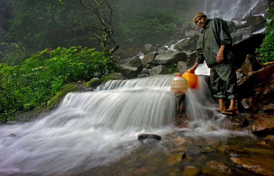 Massive Amboli Waterfalls, Amboli