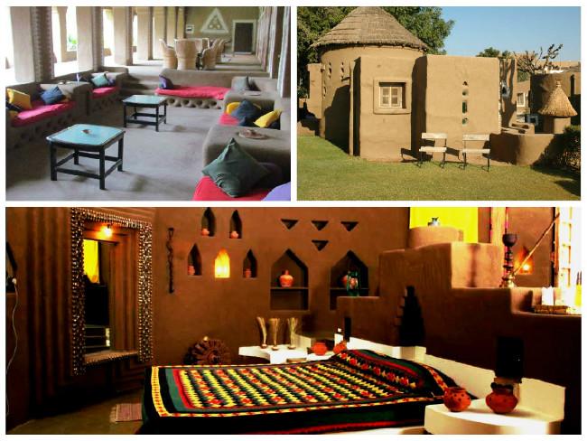 Rustic Living at Desert Resort