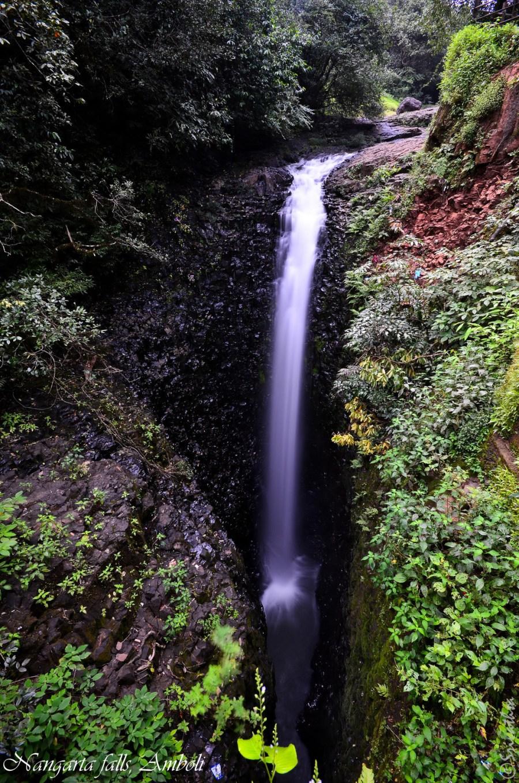 Nangartas Falls at Amboli