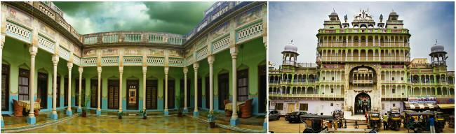 Marvel at the beauty of Piramal Haveli