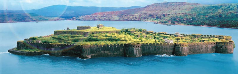 Sindhudurg Fort at Malvan near Tarkarli