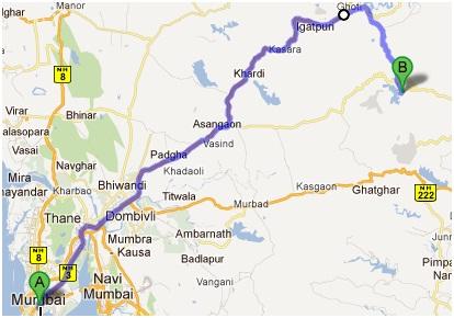 Mumbai-BhandhardharaMap