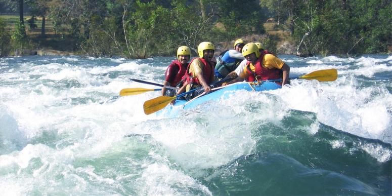River Rafting, Ulhas Valley
