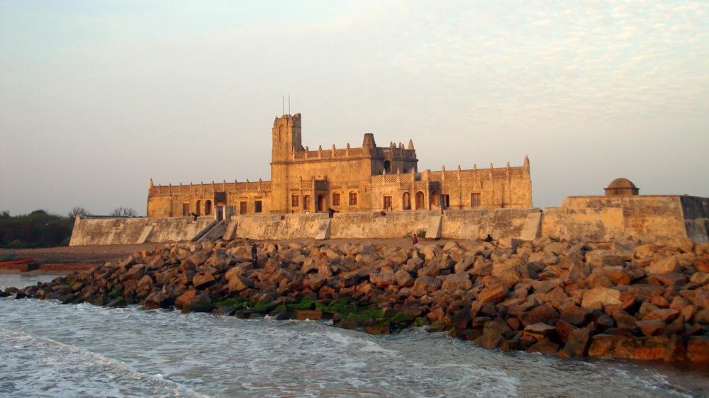Bungalow on the Beach,Tranquebar