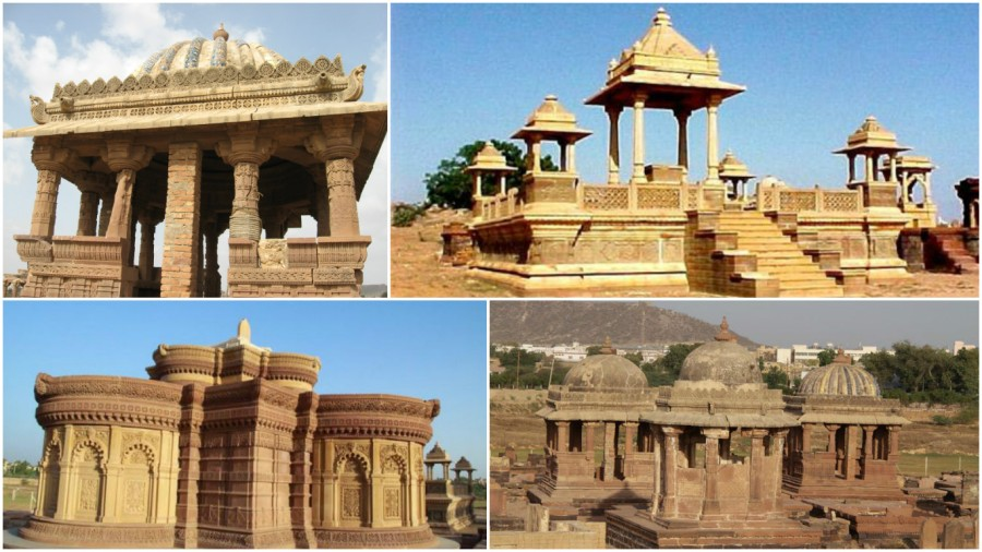 Cenotaphs of Kutch Royals