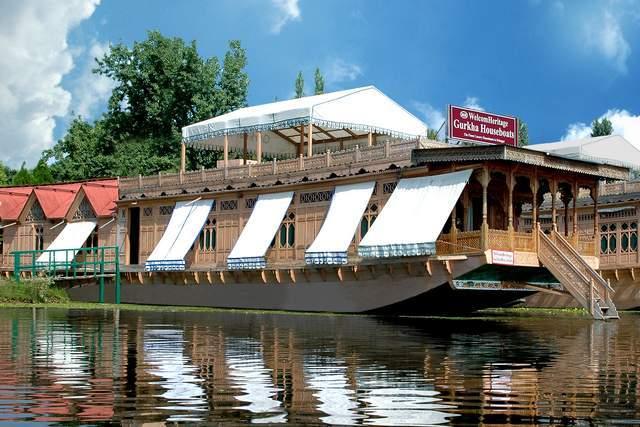 WelcomHeritage Gurkha Houseboats, Nagin Lake, Kashmir