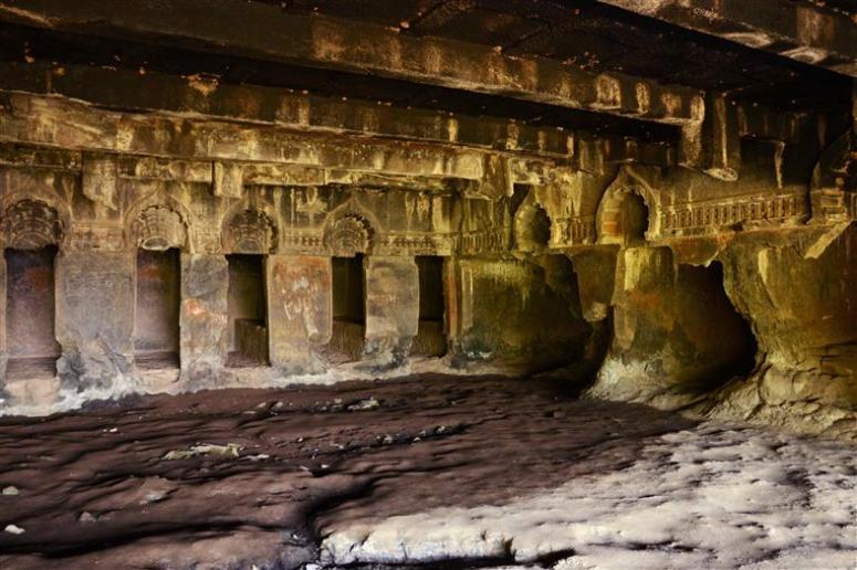 Inside the Kondana Caves