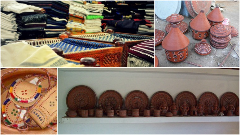 Handicrafts at Khavda Village enroute Kala Dunger