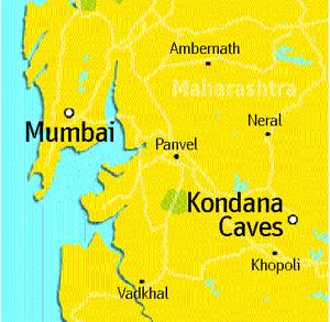 kondana-caves-map