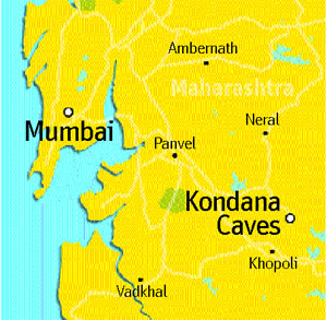 kondana-caves-map