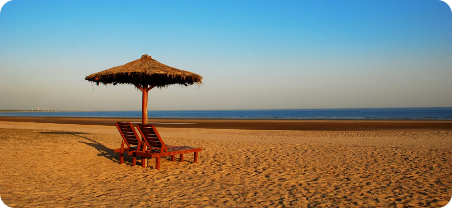 Private beach, mandvi