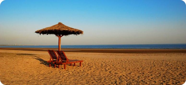Private beach, mandvi