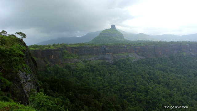 The Hill where Peth Fort is Situated