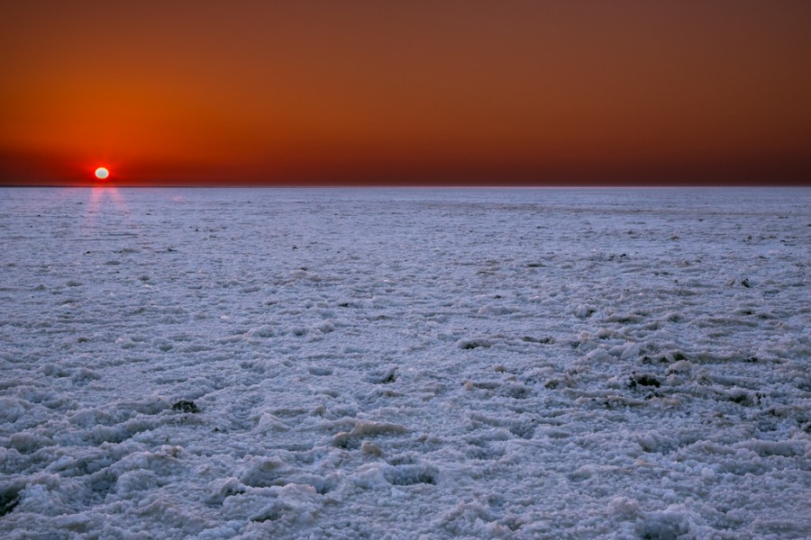 Sunset View of Rann