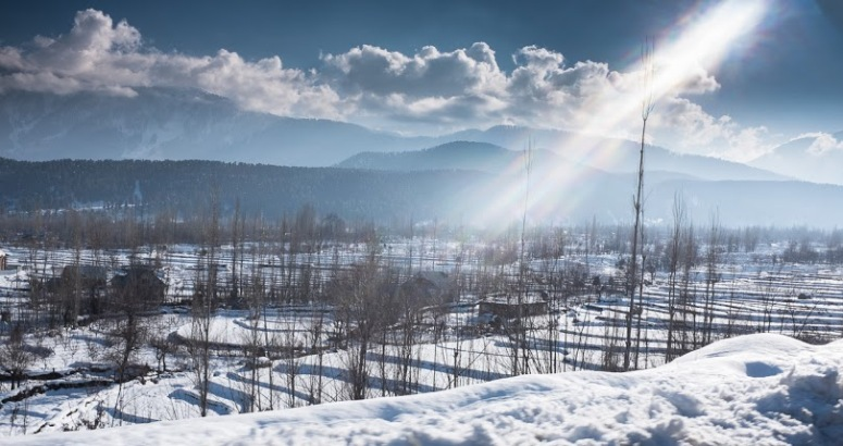 Tangmarg in Winters