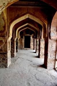 Haunted Gallery, Bhangarh near baoli
