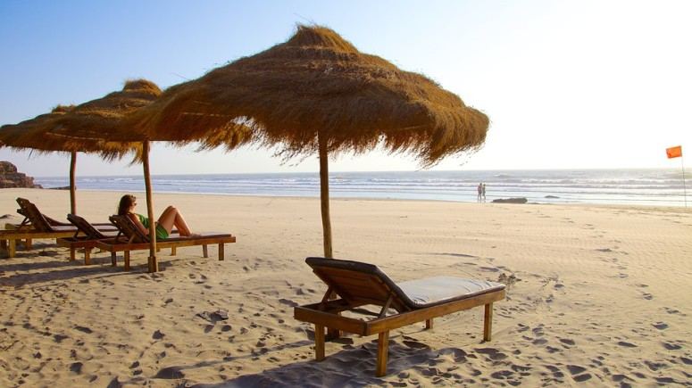 Soak up the Sun in one of these at Ashvem Beach