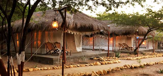 Royal Tents of 'The Beach' Mandvi
