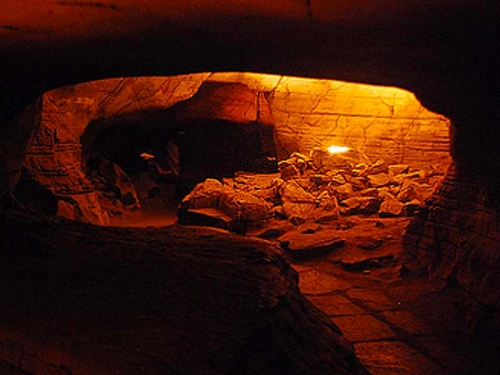 Inside Chambers of Chicalim Caves