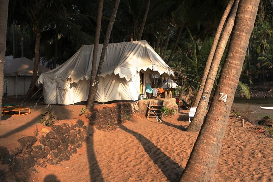 Cola Beach Resort Tents