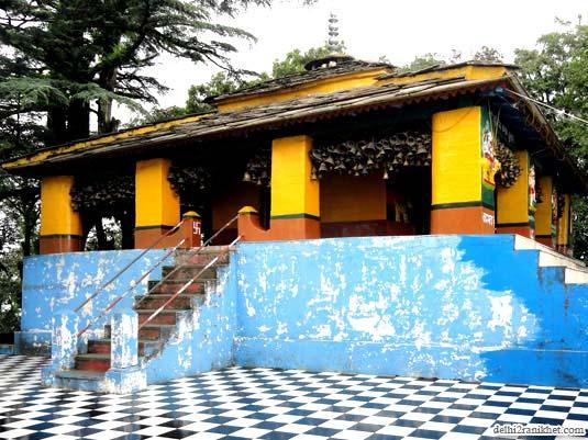 Main Shrine of Dunagiri Temple