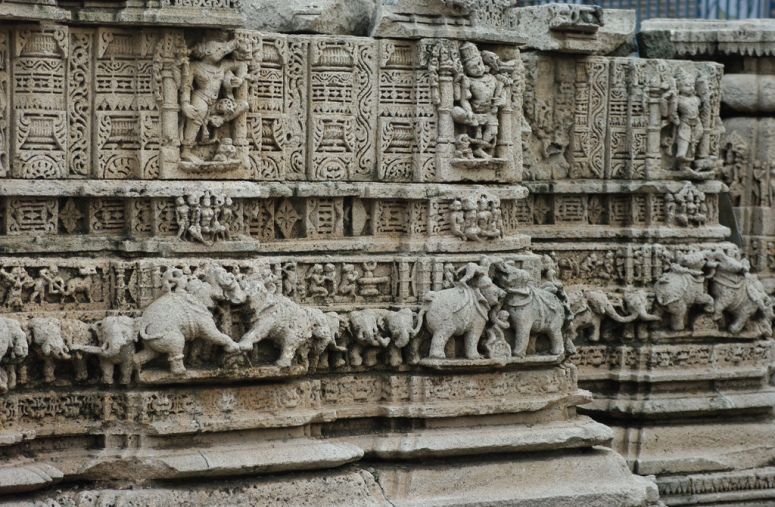 Carving of one of the Temples at Dwarahat