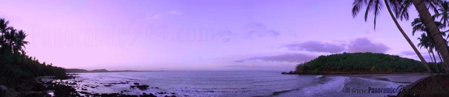 Panoramic View of Hollant Beach