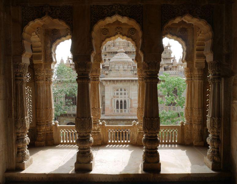 View from Inside Mani Mandir, Morbi