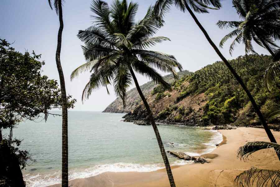 The Movie like setting of Kakolem Beach
