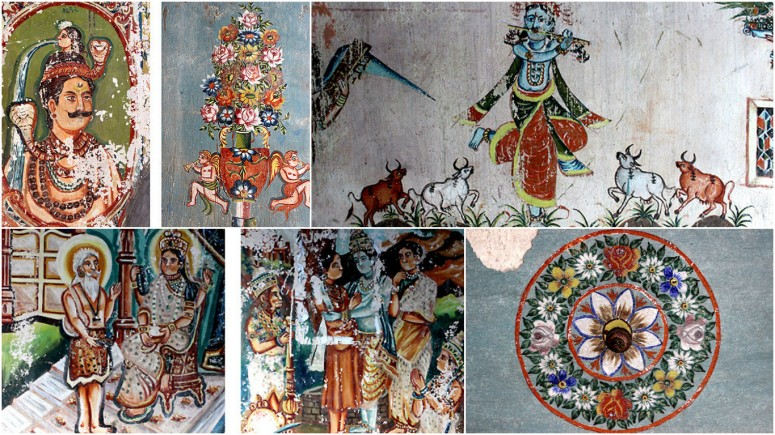 18th Century Kamangiri Painting - a dying art now