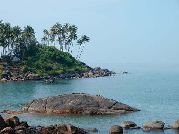 Palolem Beach South Goa India October 2012