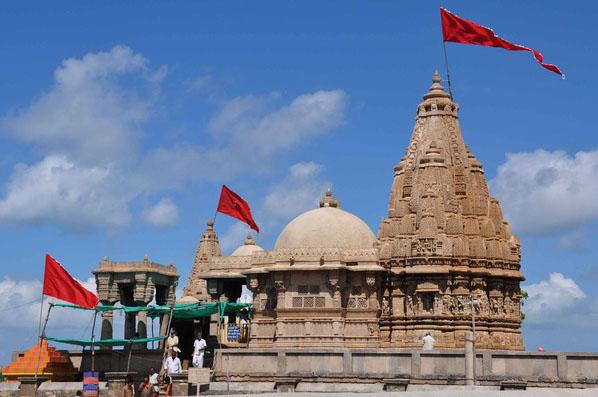 Rukmini Devi Temple at Dwarka