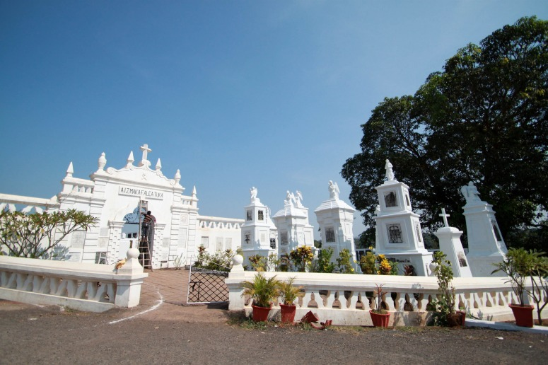Cemetery located near St Thomas Church, Aldona - Goa