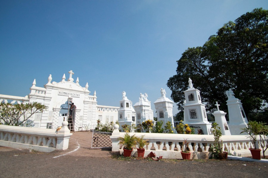 Cemetery located near St Thomas Church, Aldona - Goa