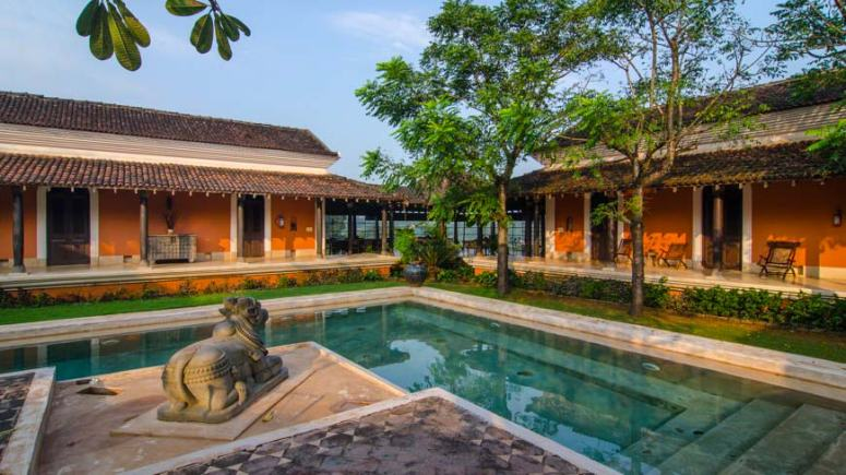 Courtyard at Avanliya, Goa